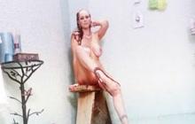 Sexy mom Julia Ann in the shower