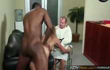 Cougar Shayla Laveaux wants big black cock