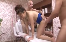 Young womans erotic journey