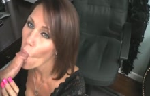 Nice blowjob from a horny MILF