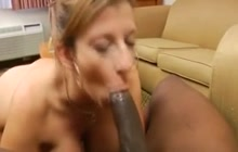Sara Jay taking a BBC