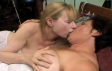 Lesbian wives fisting and kissing