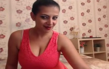 Huge tit MILF on webcam